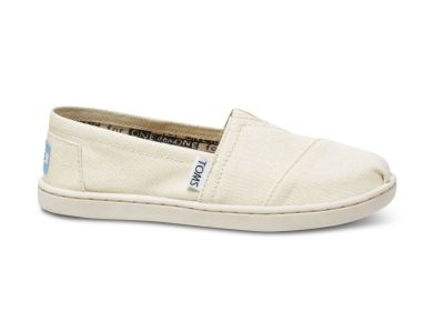 Toms - Toms 012001C13-LTG Natural Canvas Yt Clsc Çocuk Günlük Ayakkabı