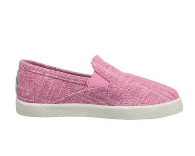 Toms - Toms V 10007498 Pınk Metallıc Lınen Tn Çocuk Günlük Ayakkabı