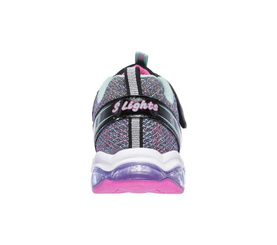 Skechers 10833L-BKM Glimmer Lights Çocuk Spor Ayakkabı