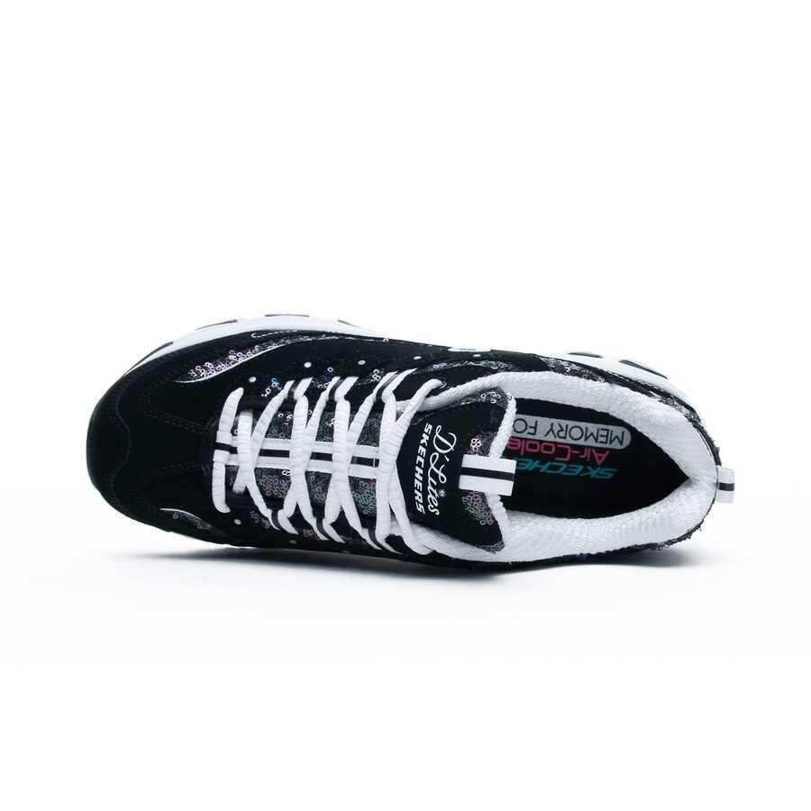 Skechers 11916-BKW DLites Fame Fortune Kadın Spor Ayakkabı