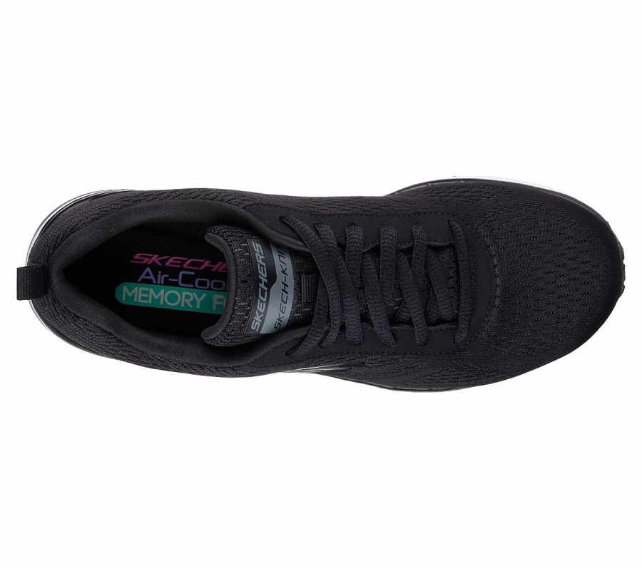Skechers 12205-BLK Skech Air-Infinity Kadın Spor Ayakkabı