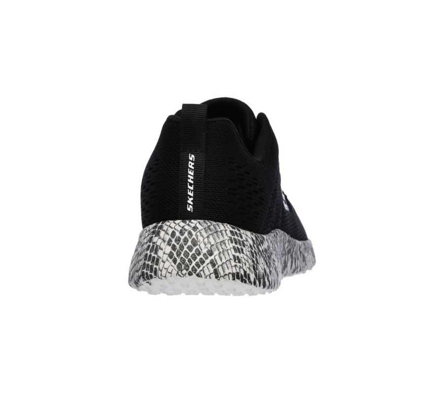 Skechers 12737-BKW Burst Kadın Spor Ayakkabı