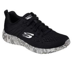 Skechers 12737-BKW Burst Kadın Spor Ayakkabı - Thumbnail