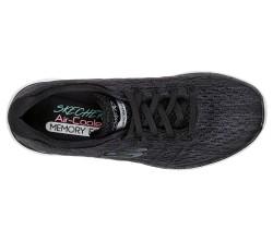 Skechers 13064-BKW Flex Appeal Satellites Kadın Spor Ayakkabı - Thumbnail