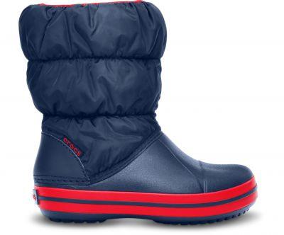 Crocs - Crocs 14613-485 Winter Puff Çocuk Günlük Bot