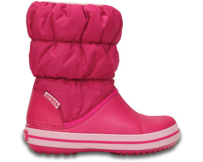 Crocs - Crocs 14613-6X0 Winter Puff Çocuk Günlük Bot
