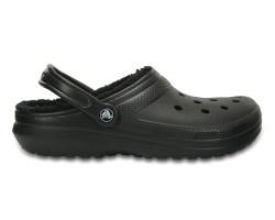 Crocs - Crocs 203591-060 Classic Lined Clog Kadın Günlük Terlik