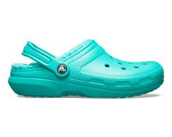 Crocs - Crocs 203591-3O4 Classic Lined Clog Kadın Günlük Terlik