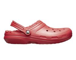 Crocs - Crocs 203591-6HD Classic Lined Clog Kadın Günlük Terlik