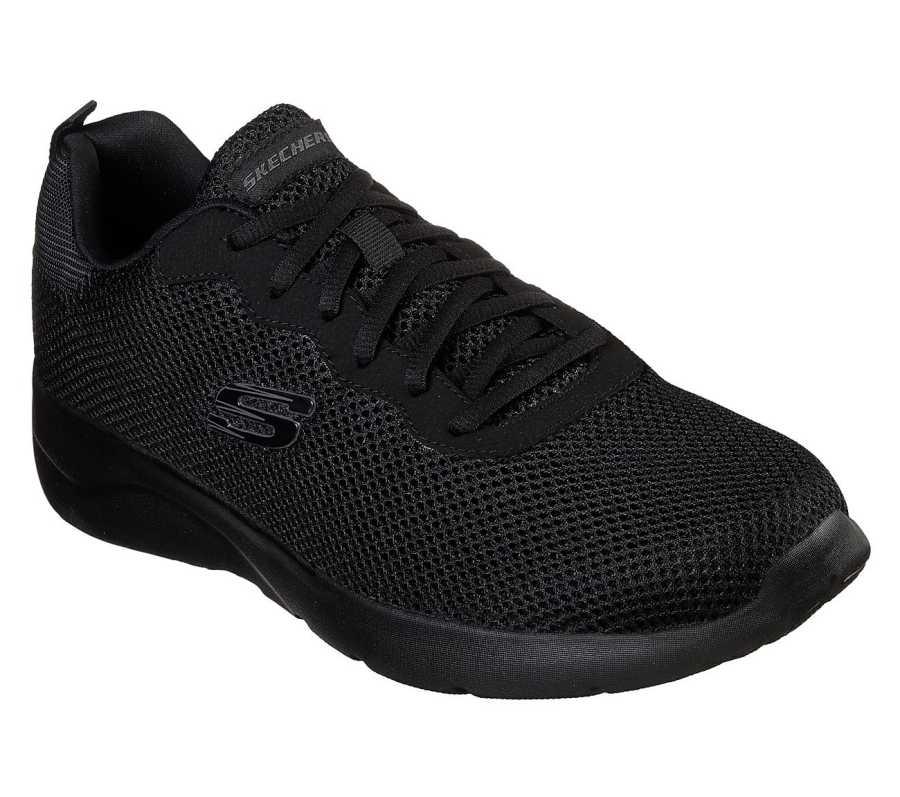 Skechers 58362-BBK Dynamight 2.0 Rayhill Erkek Spor Ayakkabı