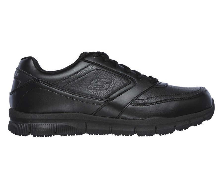 Skechers 77156-BLK Nampa Erkek Spor Ayakkabı