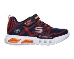 Skechers 90542L-NVR Flex Glow Genç Spor Ayakkabı - Thumbnail